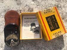 TEMPOPHOT fotometro elettrico vintage