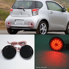 Black Lens LED Bumper Reflector Light For Scion xB iQ Toyota Sienna Corolla