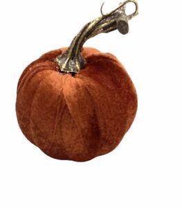 Handmade Fall Orange elegant Halloween Soft pumpkin Decoration 4x4