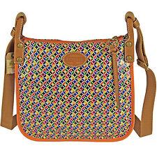 FOSSIL Handtasche Schultertasche Umhängetasche Shopper  KEY-PER CROSSBODY Multi