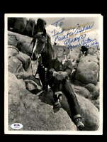 Gene Autry PSA DNA Coa Signed 8x10 Photo Certified Autograph