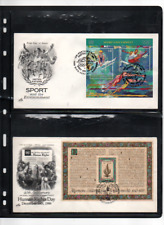 United Nations 5 fdc's--- 1 addressed