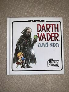 NEW Star Wars Darth Vader And Son Book Hardcover Jeffrey Brown $14.95
