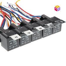 Lot of 5 OEM MAC  RELAY F0AB-14B192-AA Black Multi-purpose 5 pin Relay RV