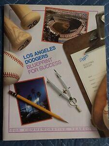 1988 Los Angeles Dodgers Yearbook World Series Winners Excellent+