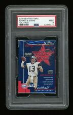 2000 Leaf Football Rookies and Stars Sealed Unopened Pack PSA 9 Tom Brady RC