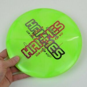🔥*DOUBLE STAMP* Discraft Tour Series Z Wasp *ADAM HAMMES* Misprint