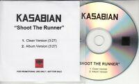 KASABIAN Shoot The Runner 2006 UK 2-track promo test CD