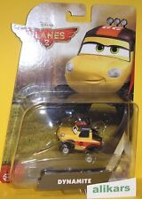 Dynamite - Car - Dinamite Disney Planes 2 Mattel Aereo Cars Fire & Rescue toy