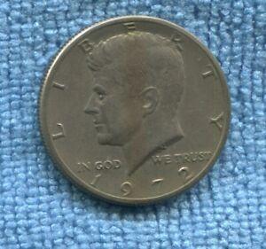 1972 ½ Dollar Kennedy Half Dollar USA F-849