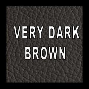250ml Very Dark Brown Leather & Vinyl Pigment Dye Paint Worn Damaged Sofa Chair