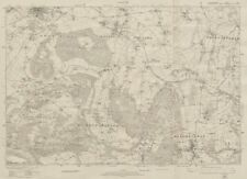 Ross-on-Wye valley Mitcheldean. Glos. / Herefordshire. ORDNANCE SURVEY 1924 map