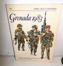 BOOK Men at Arms MAA #159 Grenada 1983 op 1990 Ed
