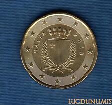 Malte 2013 - 20 Centimes D'Euro - Pièce neuve de rouleau - Malta