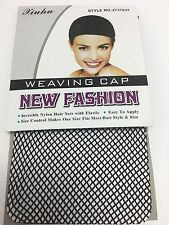 Black Real Hair Elastic Wig Cap Fishnet Weaving Cap For All Purposes