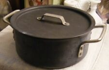 CALPHALON Non Stick Stock Pot #8785-501 w/ # 311 Lid Used Lot of Life Left