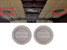Genuine OEM Roof A/C Air Ventilator Grille 2EA Gray (Fits: KIA 2006-2014 Sedona)