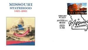 Missouri Statehood Bicentennial, State Capitol, First Day Cover