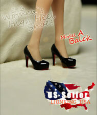 "1/6 High Heel Shoes A For 12"" TBLeague PHICEN Hot Toys Female Figure ❶USA❶"