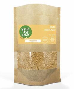 Organic Golden Linseed   Raw   GMO Free