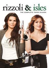 Rizzoli & Isles Complete Series 3 DVD All Episodes Third Season Original UK NEW