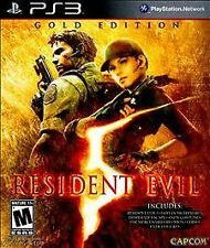 NEW Resident Evil 5 Gold Edition (Playstation 3, 2010)
