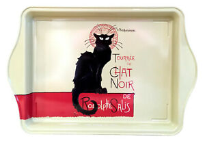 Black Cat Metal Scatter Tray (Tournée Du Chat Noir) Serving Trays Dish Platter