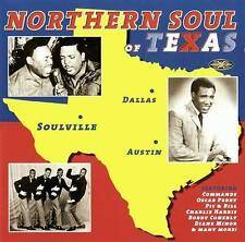 NORTHERN SOUL OF TEXAS Various Artists NEW SEALED SOUL CD (GOLDMINE) 60s 70s R&B
