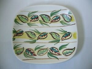 BOURNE DENBY - GLYN COLLEDGE - HAND PAINTED PIN DISH - SIGNED - GOOD USED  A