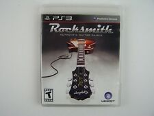 Rocksmith Ubisoft Playstation 3 PS3 Video Authentic Guitar Game/Trainer Software