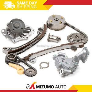 Timing Chain Kit VVT Gear Water Oil Pump Fit 01-13 Toyota Scion 2.4 1AZFE 2AZFE