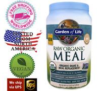 Garden of Life - Raw Organic Vegan Meal Replacement Shake - 36.6oz (1038g)