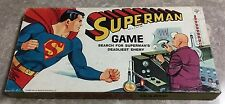 Vintage 1965 Superman Board Game 100% COMPLETE Hasbro Unpunched UNPLAYED
