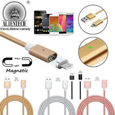 Magnetic Type-C Micro USB Charging Charger Sync Cable for Samsung S8 Plus/Note 8