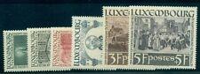LUXEMBOURG #B86-91 Complete set, semi-postals, og, NH, VF, Scott $50.00