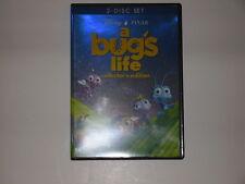 WALT DISNEY'S PIXAR A BUG'S LIFE 2 DISC DVD SET MOVIE OOP VAULT 1st ISSUE 2003