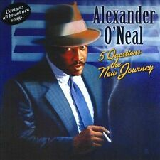 Audio CD Five Questions - The New Journey - Alexander O'Neal - Free Shipping