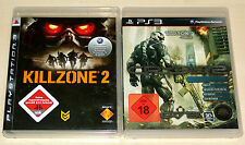 2 PLAYSTATION 3 giochi Set-Killzone 2 & Crysis 2 Limited Edition-ps3