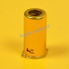 4pcs 9pin Gold Tube Shield Cover for 12AX7 12AU7 ECC82 6N11 ECC83 12AT7