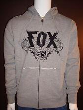 Fox Racing Razor Barb Zip Up Hoody Grey, XL