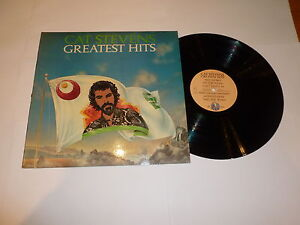 CAT STEVENS - Greatest Hits - 1975 UK Tiger label 12-track vinyl LP