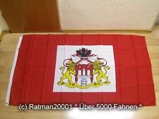 Fahnen Flagge Hamburg Senat - 90 x 150 cm