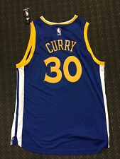 New Golden State Warriors Steph Curry Adidas Jersey Size Large Swingman Jersey