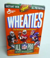Wheaties 1995 All Pro NFL Wide Receivers Tim Brown  Jerry Rice Andre Reed Box