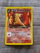 MINT 1999 Pokemon NEO DESTINY DARK TYPHLOSION - HOLO RARE