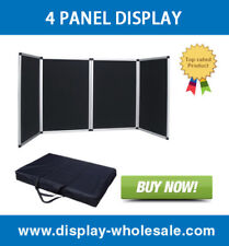 4 Panel Table Top Display