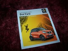 Catalogue / Brochure SMART Fortwo 2014 //