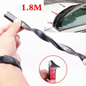 1.8M Universal Car Front Windshield Sealed Strip Hood Spoiler Strip Reduce Noise
