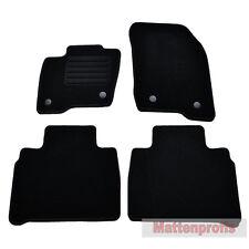 Velours Fußmatten Autoteppiche 4-teilig für Ford Galaxy 5-Sitzer ab Bj.01/2015 -