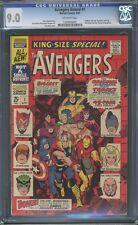 Avengers Annual #1 CGC 9.0 1967 Iron Man! Thor! Hulk! F4 131 cm